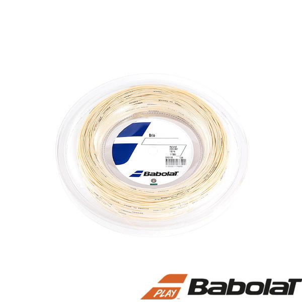 送料無料◆BABOLAT◆ブリオ 125/130/135/ BA243118R  ロールタイプ バボラ 硬式テニスストリング