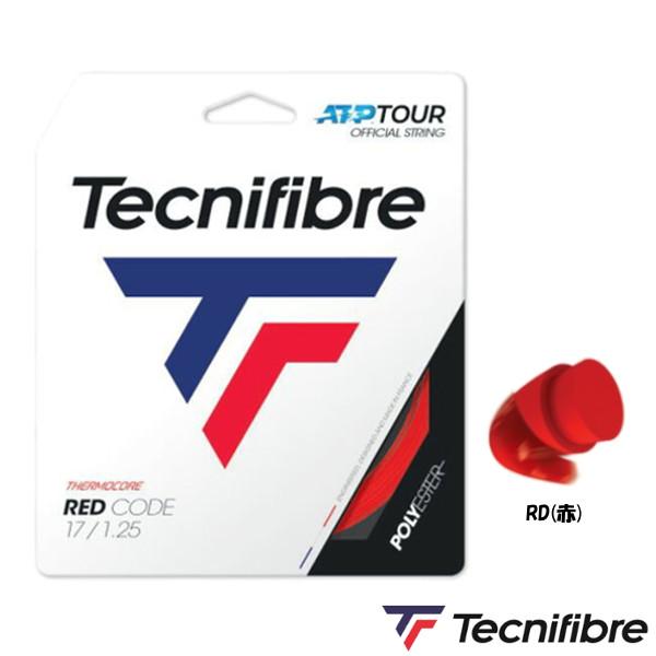 送料無料◆Tecnifibre◆RED CODE 1.25mm TFR416 テクニファイバー 硬式テニス ストリング ロールガット