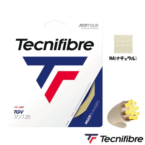 10%OFFクーポン対象◆送料無料◆Tecnifibre◆TGV 1.25mm TFR205 テクニファイバー 硬式テニス ストリング ロールガット