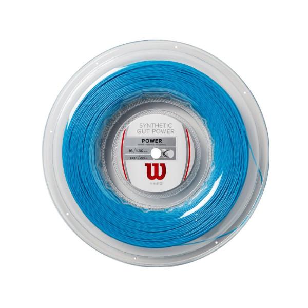 送料無料◆Wilson◆硬式テニスストリング SYNTHETIC GUT POWER 16 REEL WR830140116 ウィルソン ロールガット