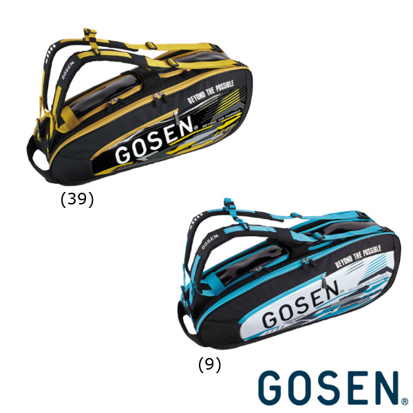 送料無料◆GOSEN◆2019年4月発売◆ラケットバック Pro4 BA19PR4 (ラケット4本収納可) PRO SERIES ゴーセン バッグ