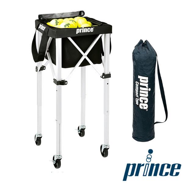 送料無料◆Prince ボールバスケットコンパクトタイプ(キャスター付) PL055 プリンス コート備品