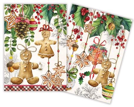 華やかなミッシェルデザインワークス キッチンクロス2柄セット 好評受付中 ホリデイトリーツ 大好評です ミッシェルデザインワークス 食器拭き 華やか キッチン用品 クリスマスプレゼント キッチン雑貨 料理 おしゃれ ナチュラルコットン かわいい プレゼント