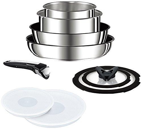 ティファール フライパン 鍋 公式通販 9点 セット IH対応 最新アイテム インジニオ 6 IHステンレス チタン エクセレンス ネオ セット9