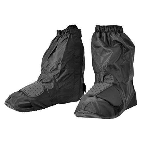 コミネ KOMINE バイク用 ラッピング無料 有名な ネオレインブーツカバー ショート ブーツカバー 靴カバー 防水 ブラック M カバー シューズカバー 靴 対応