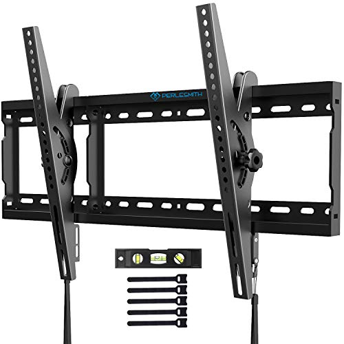 PERLESMITH テレビ壁掛け金具 37~70インチ 液晶テレビ対応 耐荷重60kg 左右移動式 角度調節可能 VESA対応 最大600x400 水準器付き
