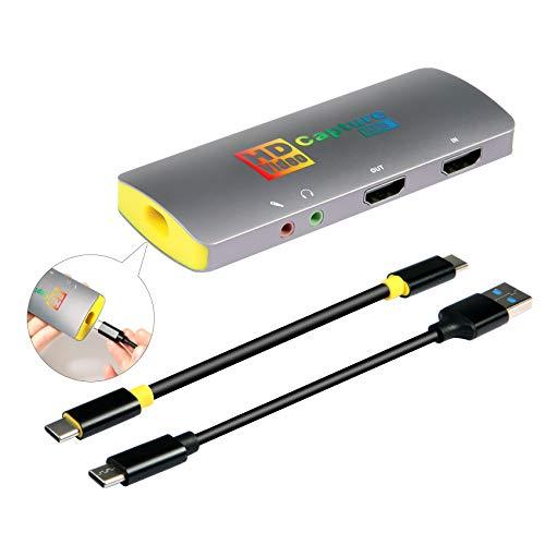 Basicolor3217 4K キャプチャーボード NEW ARRIVAL switch PS4 Xbox Wii 美品 U 4K@60fps キャプボ ウェブカメラ ボ USB3.1 キャプチャー PS3に対応