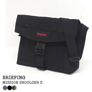ブリーフィング/BRIEFING ミッションショルダーS ショルダーバッグ MISSION SHOULDER S BRF-313219【コンビニ受取可能】【a*】
