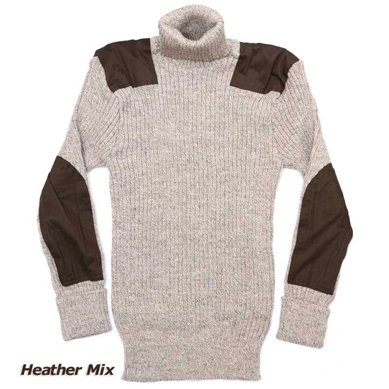NATO軍タイプ タートルネック セーター コマンドセーター[MADE IN BRITAIN]ミリタリーセーター