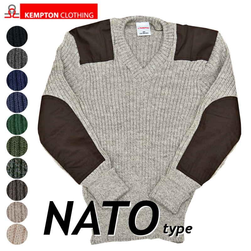 ケンプトン コンバットセーターNATO軍タイプ コマンドセーター[MADE IN ENGLAND]ミリタリーセーター