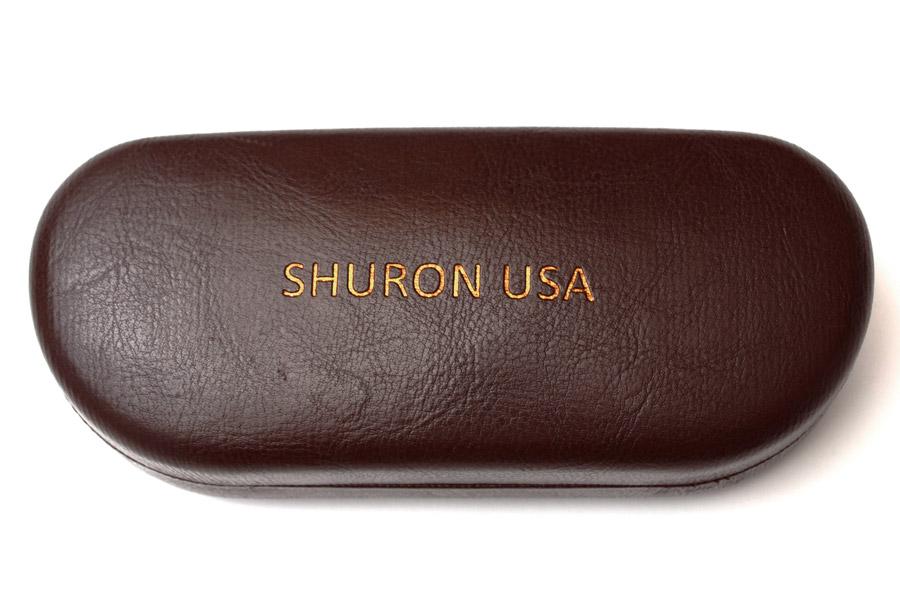 SHURON メガネフレーム/サングラス用 純正ハードケース ブラウン SHURON [ブラウン] メガネフレーム/サングラス用 純正ハードケース