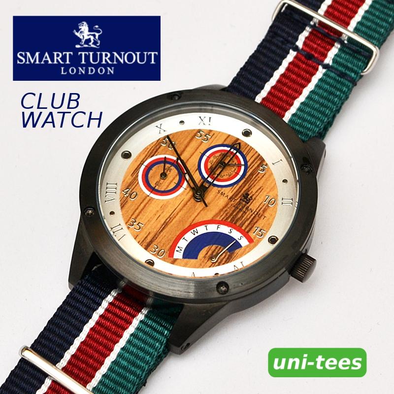 SMART TURNOUT CLUB WATCH スマートターンアウト木目調 腕時計