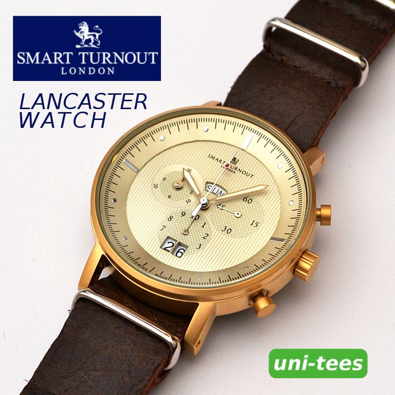 クロノグラフ機能付き SMART TURNOUT LANCASTER WATCH スマートターンアウト クロノグラフ腕時計