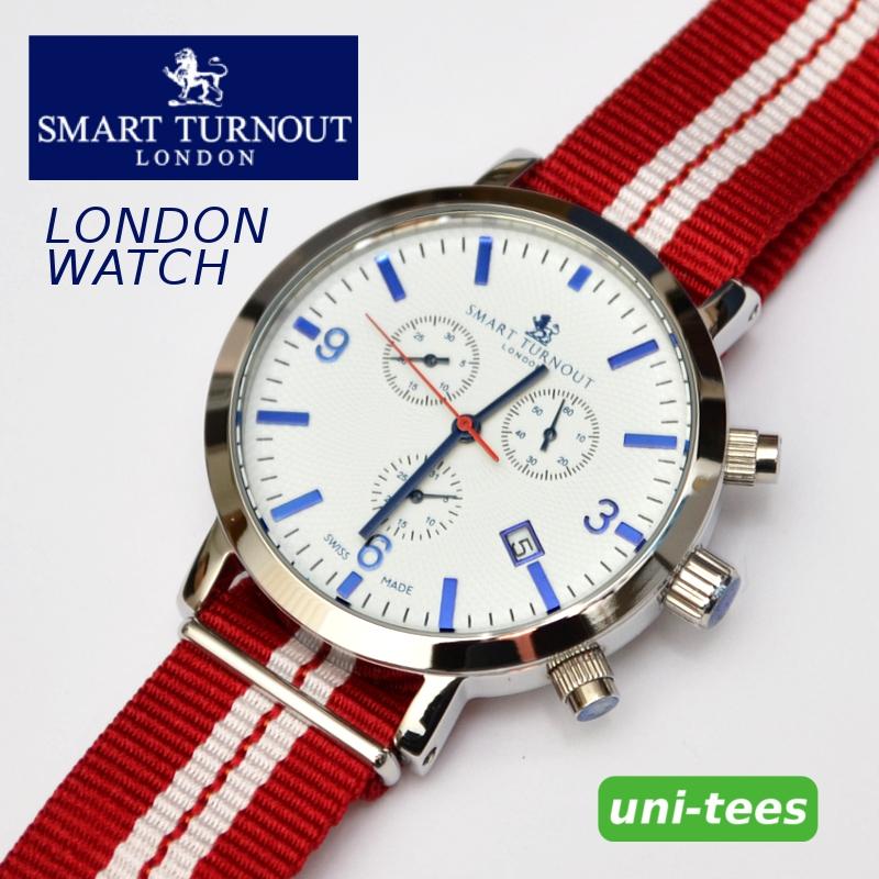クロノグラフ機能付き SMART TURNOUT 'LONDON' WATCH スマートターンアウト クロノグラフ腕時計