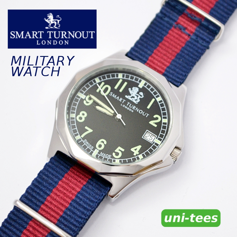 SMART TURNOUT MILITARY WATCH スマートターンアウト NATO軍G10タイプミリタリーウォッチNATOベルト対応