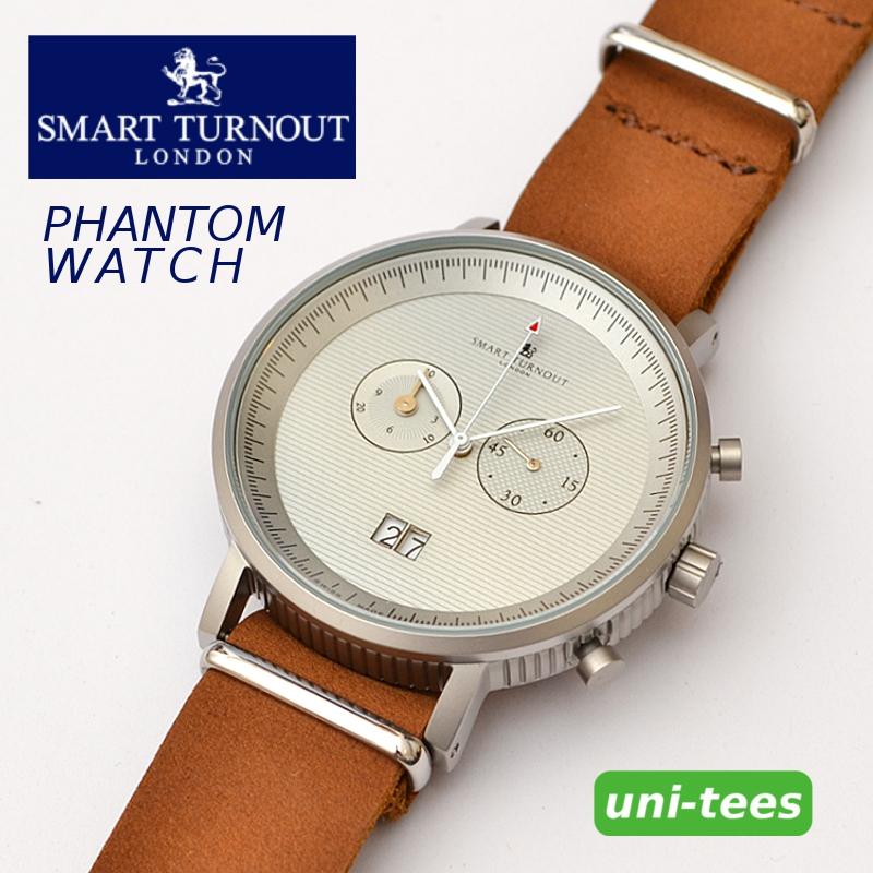 クロノグラフ機能付き SMART TURNOUT PHANTOM WATCH スマートターンアウト クロノグラフ腕時計