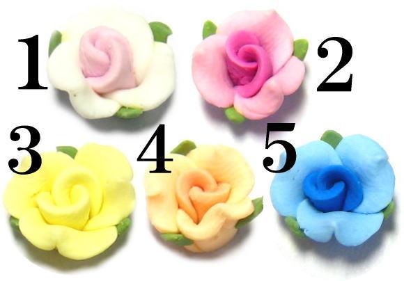 送料無料カード決済可能 樹脂製バラ 1個 出色 8mm ☆クリックポストOK☆