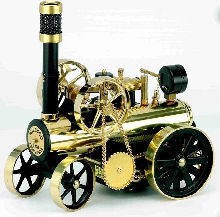 鉄道模型 国鉄 模型 おもちゃ 玩具 送料無料【蒸気エンジン付きトラクター Model D430】【送料無料】20世紀初頭にかけて欧米の農家で使われていたトラクタ- mate