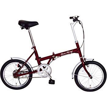 16インチ 折畳自転車 クラシックミムゴ【Classic Mimugo FDB16 16インチ折畳自転車  MG-CM16】車でお出かけ!目的地で自分の足で爽快に mimu d9-01