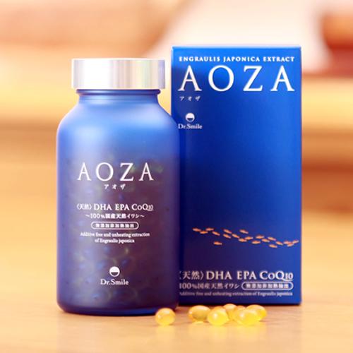 オメガ3 サプリ DHA EPA CoQ10 青魚 イワシ 送料無料【AOZA(アオザ) 300粒】【送料無料】オメガ3が手軽に摂れるサプリメント 必須脂肪酸 as