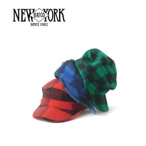 ウール ブロックチェックキャップ メンズ レディース ニューヨークハット NEW YORK HAT BUFFALO PRIVATE 帽子 アーミーキャップ CAP ブロックチェック ランキングTOP5 驚きの値段 #9416