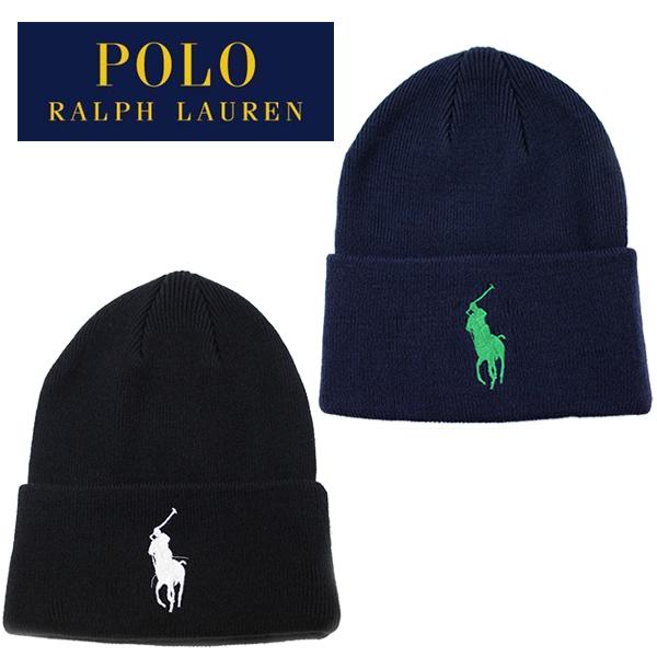 ポロ ラルフローレンの大人気ニット帽 訳あり メンズ レディースOK ラルフローレン ニット帽 ニットキャップ ビーニー Polo Ralph Lauren BIG PONY ビッグポニー スノーボード CUFF 帽子 ネイビー グレー ブラウン レディース 在庫あり メール便 キャップ HAT スキー ブラック
