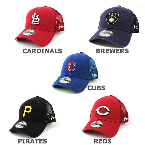 ニューエラ メッシュキャップ 9FORTY MLB ナショナルリーグ NEW ERA (ドジャース/ジャイアンツ/パドレス/ロッキーズ/カブス/カージナルス/パイレーツ/レッズ/メッツ/ブレーブス/ナショナルズ/フィリーズ/トラッカー/キャップ/帽子)