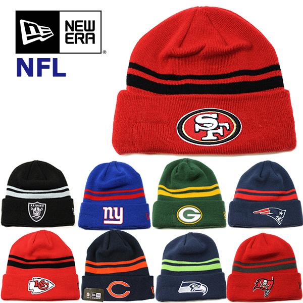 NEW ERAの大人気NFLニット帽 フリーサイズでメンズ レディースOK ニューエラ ニット帽 ニットキャップ NFL ERA 49ers レイダース パッカーズ 新作入荷 アメフト シーホークス ペイトリオッツ メール便 キャップ ジャイアンツ ゴルフ モデル着用&注目アイテム ベアーズ レッドスキンズ