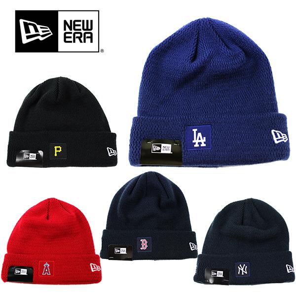 交換無料 [宅送] NEW ERAの大人気MLBニット帽 フリーサイズでメンズ レディースOK ニューエラ ニット帽 ニットキャップ MLB ERA ヤンキース キャップ スキー スノーボード エンゼルス ドジャース メジャーリーグ メール便 レッドソックス パイレーツ