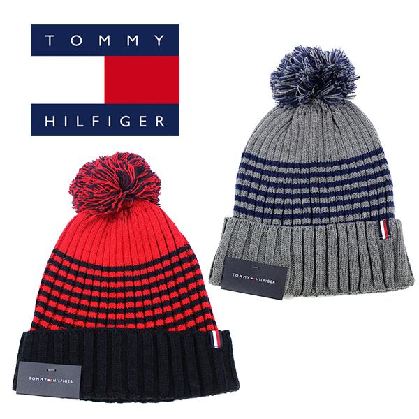 メール便対応 大人気トミー ついに再販開始 ヒルフィガーのニット帽 メンズ レディスOK トミー ヒルフィガー ニット帽 ニットキャップ ボンボン キャップ グレー HILFIGER レディース TOMMY 帽子 スキー ネイビー スノーボード 購入 メール便