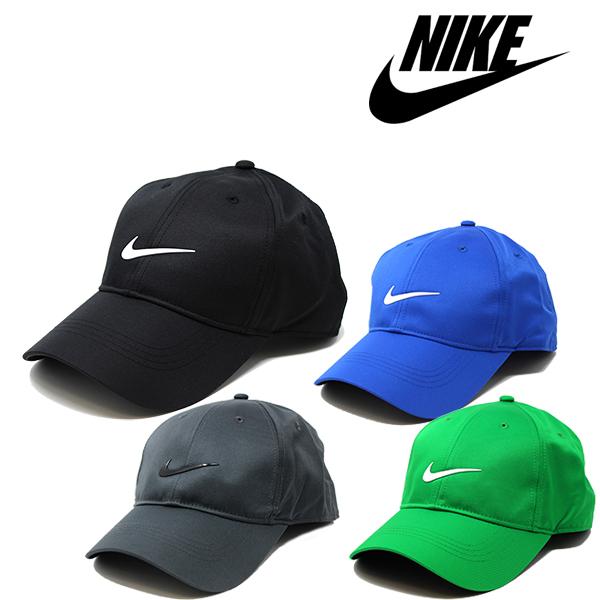 NIKEの定番無地ローキャップ メンズ レディースOK ナイキ キャップ NIKE Swoosh Dri-FIT ブラック ホワイト 2020モデル レディース グレー ランニング ゴルフ ストラップバックキャップ ブルー グリーン マーケティング 帽子 フリーサイズ テニス