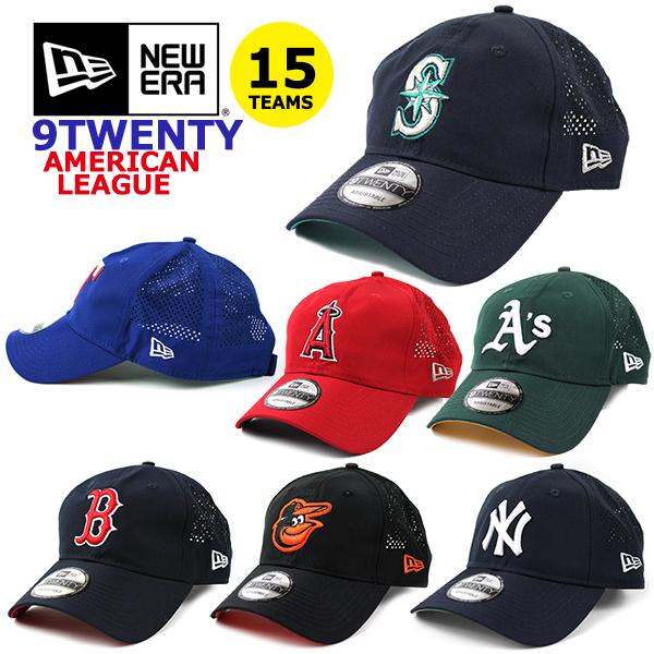 NEW ERAの大人気MLBローメッシュキャップはフリーサイズ メンズ レディースOK 新作販売 ニューエラ キャップ メッシュ 9TWENTY MLB アメリカンリーグ ERA ヤンキース インディアンズ レッドソックス ホワイトソックス アスレチックス レンジャーズ 帽子 マリナーズ タイガース ダッドハット オリオールズ エンゼルス 爆安プライス