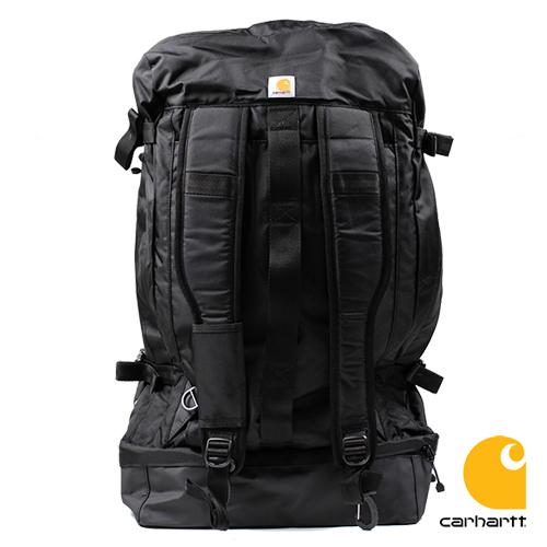 カーハート バックパック リュック CARHARTT ELEMENTS 2.0 DUFFEL BACKPACK HYBRID 大容量バックパック 送料無料 (ブラック/アウトドア/鞄/かばん/キャンプ)