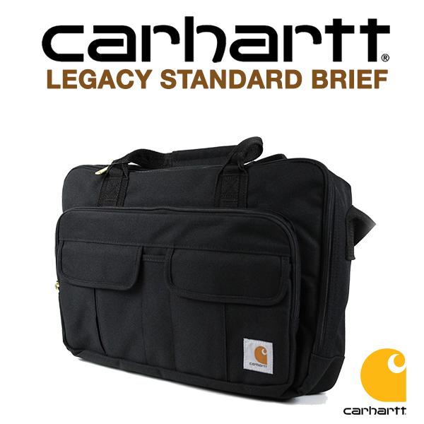 カーハート バッグ ブリーフケース CARHARTT LEGACY STANDARD BRIEF 送料無料 (ブラック/ショルダーバッグ/通勤/通学/かばん/カバン)