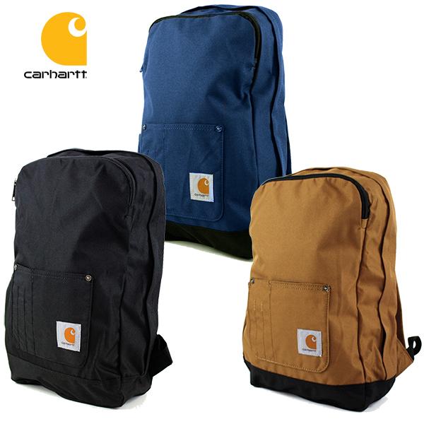 カーハートの小さいサイズのリュック 高級 メンズ レディースOK カーハート リュック バックパック コンパクト CARHARTT LEGACY BACKPACK ブルー 鞄 カバン バッグ ブラック ブラウン 送料無料 在庫あり COMPACT