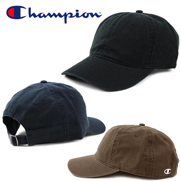 チャンピオンの大人気ローキャップ メンズ レディースOK 新生活 チャンピオン キャップ ダッドハット Champion ブラック ネイビー ランニング ストラップバックキャップ 帽子 ゴルフ グレー テニス 引き出物 レディース フリーサイズ