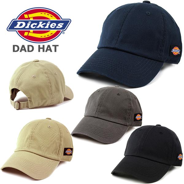 一部予約 ディッキーズの定番無地キャップ フリーサイズ メンズ レディースOK ディッキーズ キャップ ダッドハット DICKIES 無地 レディース ブラック ブリムキャップ ベージュ ロゴなし ネイビー NEW グレー 帽子 ローキャップ