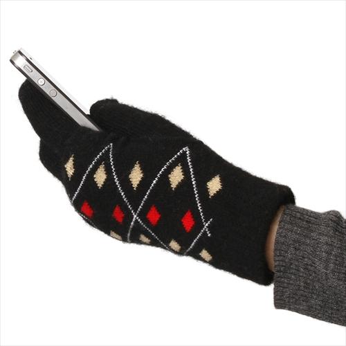冬もサクサク操作 メンズ レディース スマホ手袋 手袋 有名な 人気商品 スマートフォン対応 ウール 2WAY