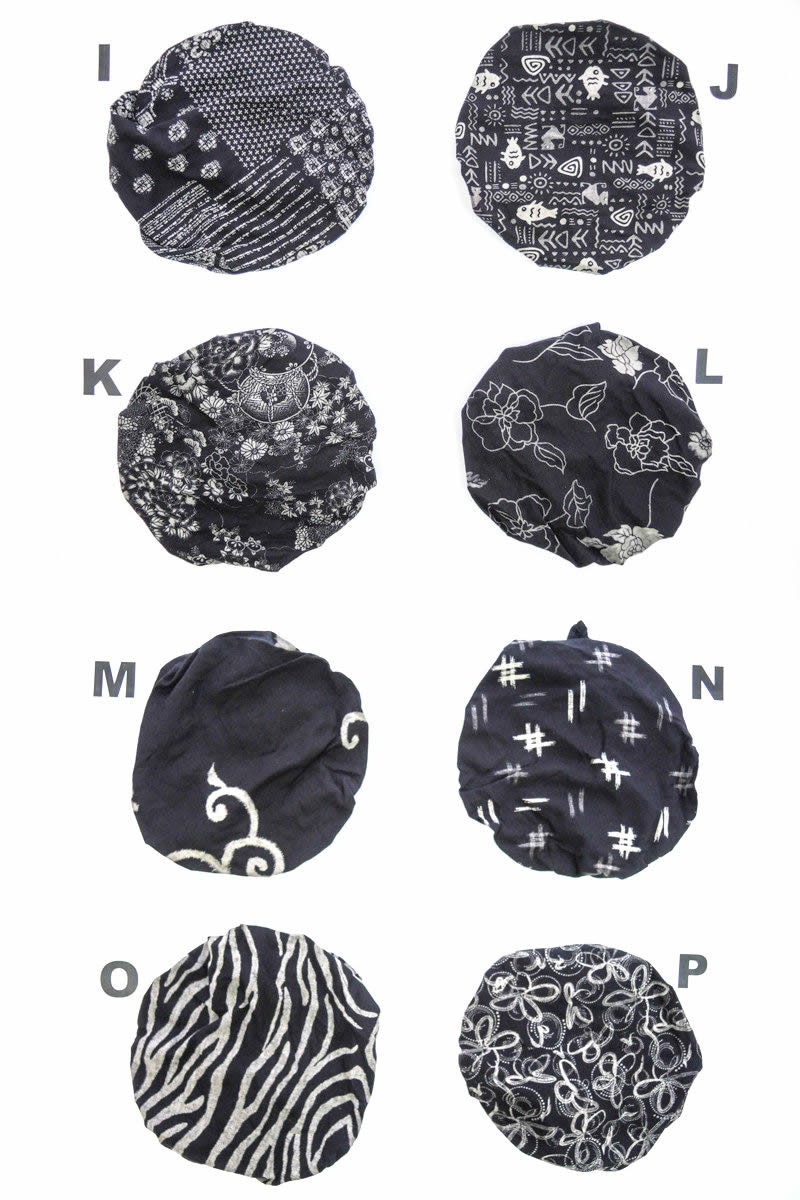Bandana Japanese pattern bandana Cap food and beverage stores Festival work cotton features Japanese pattern patterns printed mens kids women's gender unisex bandana /CA-5057229-380C with simple behavioral stylish bandana caps