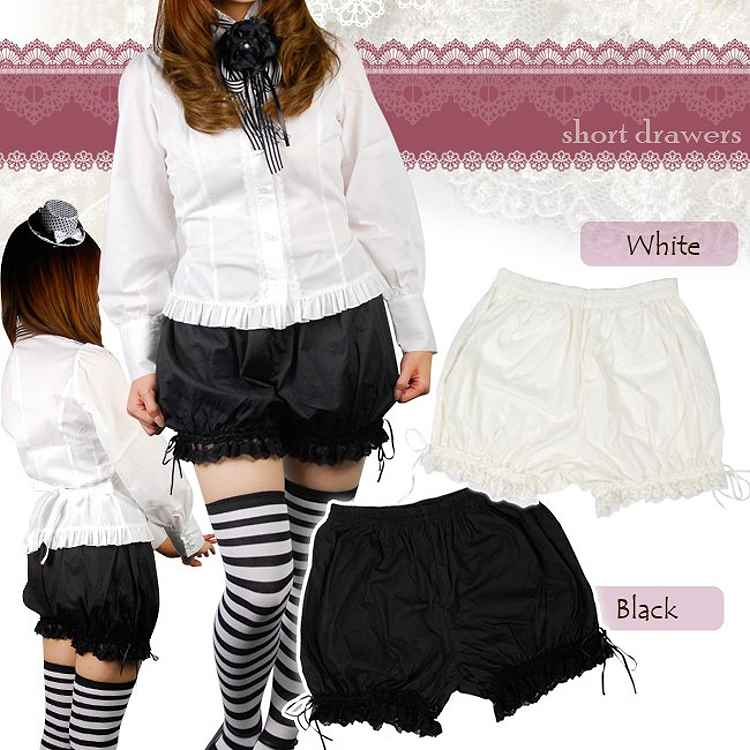 Short bloomers-Lolita-haves seated rowers and costumes, Princess-maid, Lolita classical Gothic maid, Halloween, fancy dress party / 2197433 - 08000238