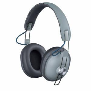 【納期約2週間】Panasonic パナソニック RP-HTX80B-H ワイヤレスステレオヘッドホン クールグレー RPHTX80H H