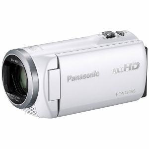 【納期約3週間】HC-V480MS-W 【送料無料】[Panasonic パナソニック] デジタルハイビジョンビデオカメラ ホワイト HCV480MSW