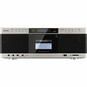 【納期約7~10日】TY-AK1(N)[TOSHIBA 東芝] ハイレゾ音源対応 Aurexシリーズ SD/USB/CDラジオカセットレコーダー サテンゴールド TYAK1N