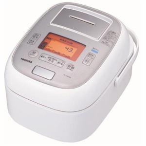 【納期約7~10日】RC-10VXM-W TOSHIBA 東芝 真空圧力IH炊飯器 「鍛造かまど本丸鉄釜」 5.5合炊き グランホワイト RC10VXMW