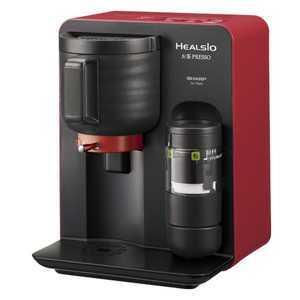 【納期約3週間】TE-TS56V-R 【送料無料】 [SHARP シャープ] お茶メーカー「ヘルシオお茶プレッソ」 レッド系 TETS56VR