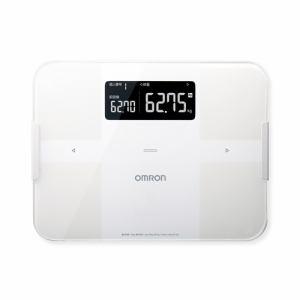 【納期約7~10日】HBF-255T-W [omron オムロン] 体重体組成計 「カラダスキャン」 ホワイト HBF255TW