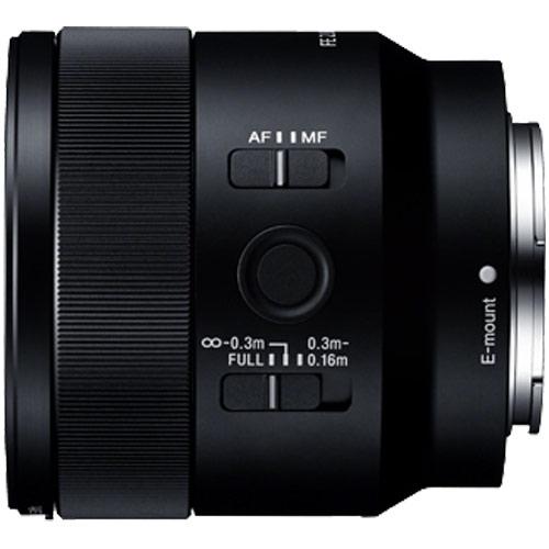 【納期約4週間】【お一人様1台限り】【代引き不可】[SONY ソニー]  SEL50M28 交換用レンズ FE 50mm F2.8 Macro