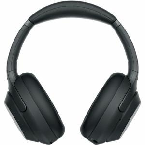 【納期約3週間】SONY ソニー WH-1000XM3BM ワイヤレスノイズキャンセリングヘッドホン 1000Xシリーズ ブラック WH1000XM3BM
