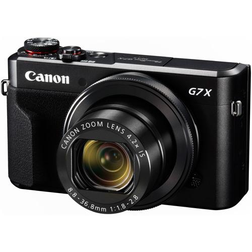 ◆【在庫あり翌営業日発送OK A-6】【お一人様1台限り】【送料無料】[CANON キヤノン] デジタルカメラ PowerShot パワーショット G7 X Mark II PSG7XMK2