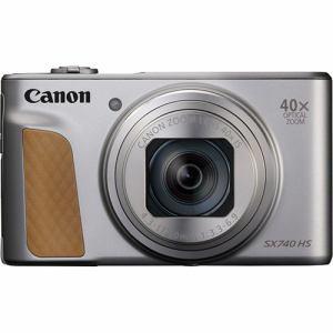 【納期約1~2週間】【お一人様1台限り】canon キヤノン PowerShot SX740 HS シルバー コンパクトデジタルカメラ PSSX740HSSL